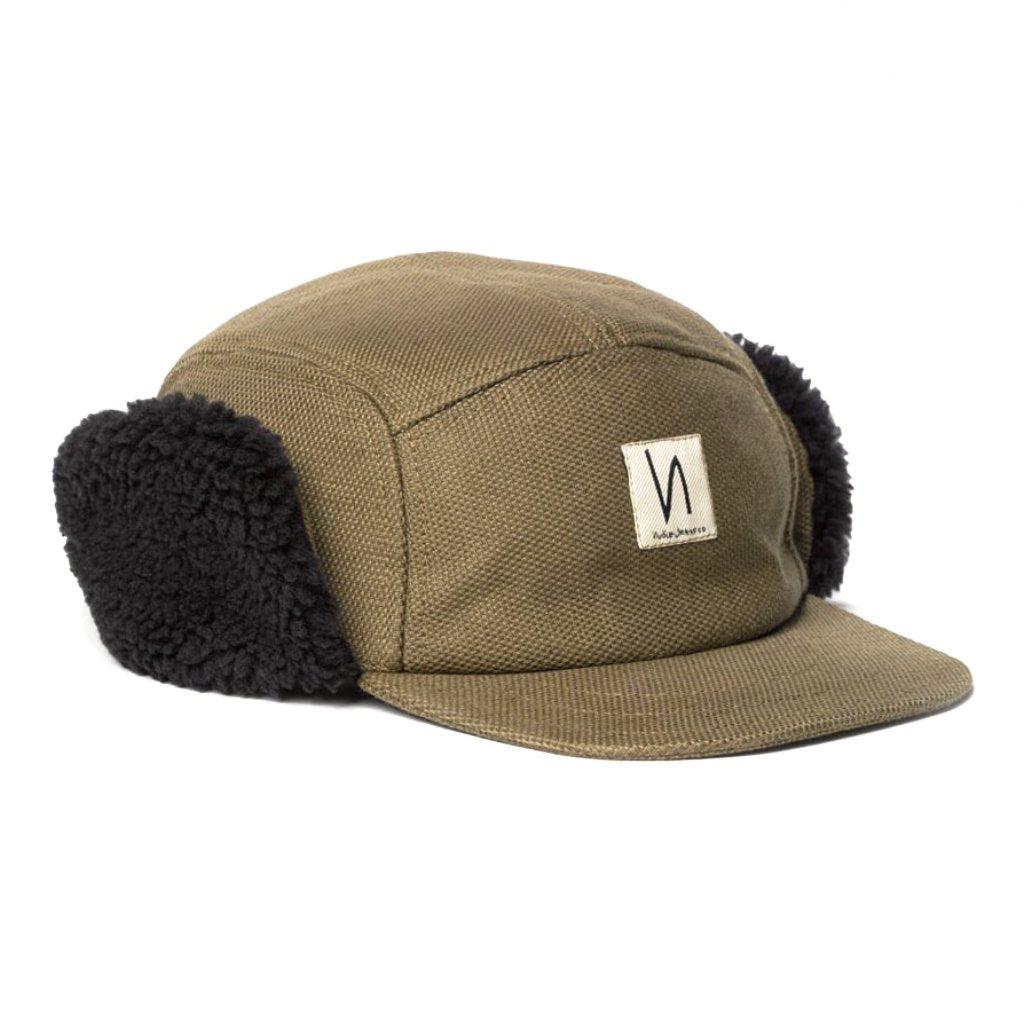 Larsson Hunter Cap (Brown) - Nudie Jeans