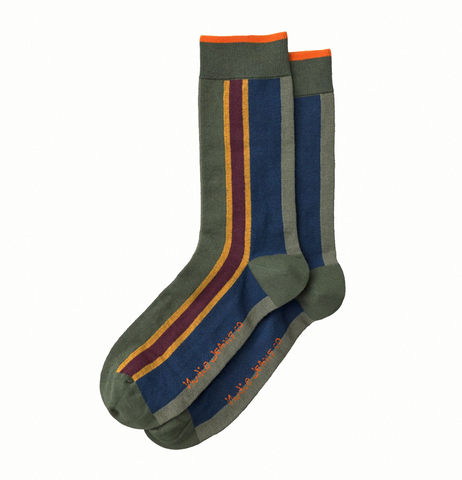 Olsson Club Stripe Socks - Nudie Jeans
