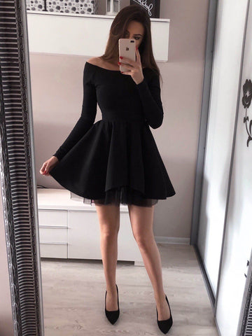 products/2019_Cheap_Long_Sleeves_Black_Red_Pink_Popular_Junior_Short_A-line_Freshman_Homecoming_Dresses_Simple_Graduation_Dresses_BD0500_3.jpg