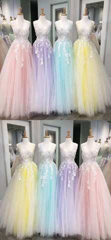 products/A-line_Tulle_with_Lace_Long_V-Neck_Colorful_Modest_Prom_Dresses.jpg