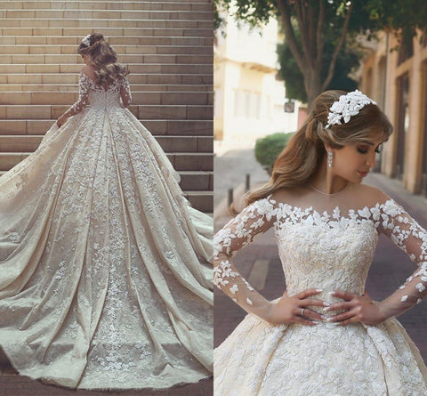products/Gorgeous_Crystal_Appliques_Wedding_Dress_2018_Tulle_Long_Sleeves_Bridal_Gowns.jpg