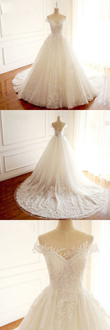 products/Short_Sleeves_Sccop_High_Quality_Princess_Wedding_Dresses_Elegnat_Most_Popular_Real_Made_Bridal_Gowns_with_train.jpg