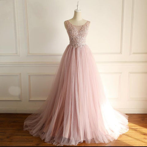 products/Soop_Dusty_Pink_Fashion_Modest_Wedding_Dresses_Beading_Tulle_Hign_Quality_Free_Custom_Prom_Dresses.jpg