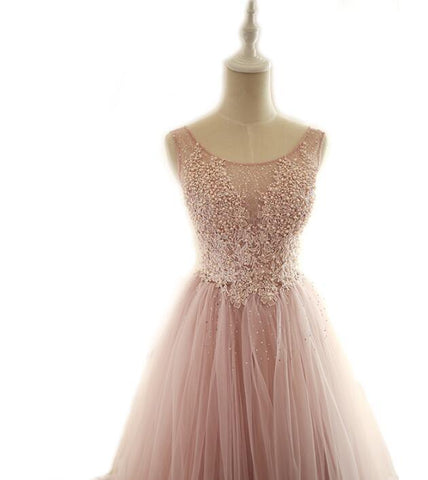 products/Soop_Dusty_Pink_Fashion_Modest_Wedding_Dresses_Tulle_Hign_Quality_Free_Custom_Prom_Dresses.jpg