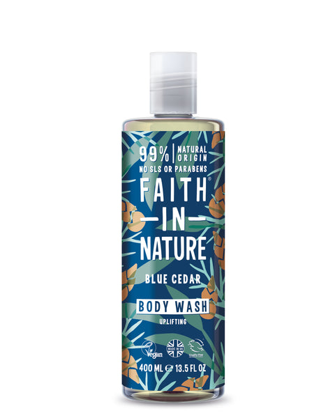 Faith For Men Blå Cedertræ Body Wash