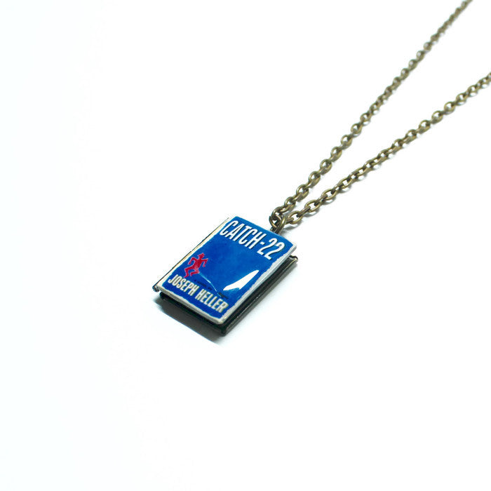 Catch-22 Book Necklace - LitLifeCo.