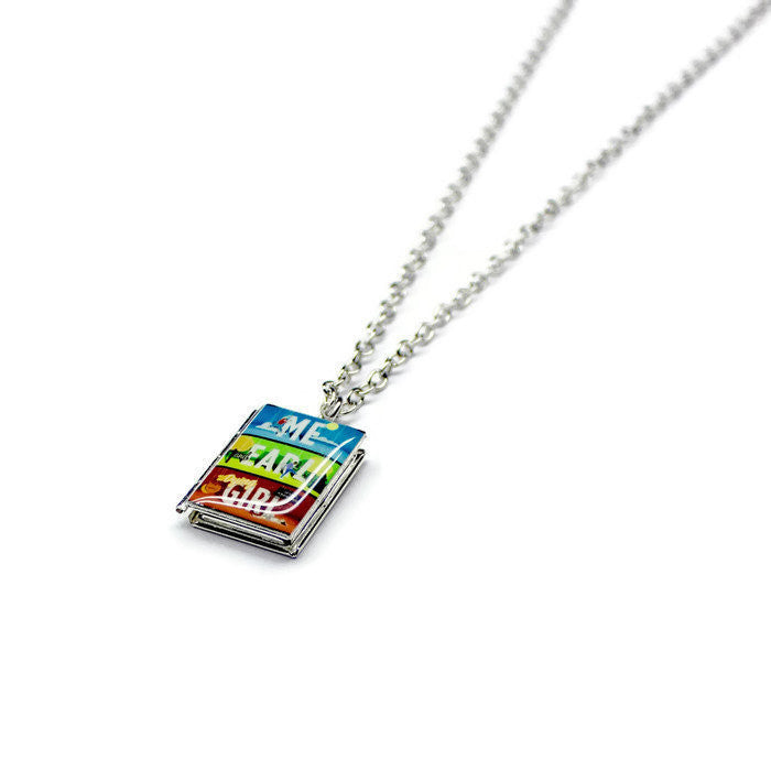 Me and Earl and the Dying Girl Book Necklace - LitLifeCo.