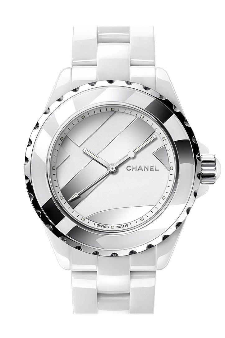 CHANEL Boy-Friend Black Dial Ladies Watch H5319