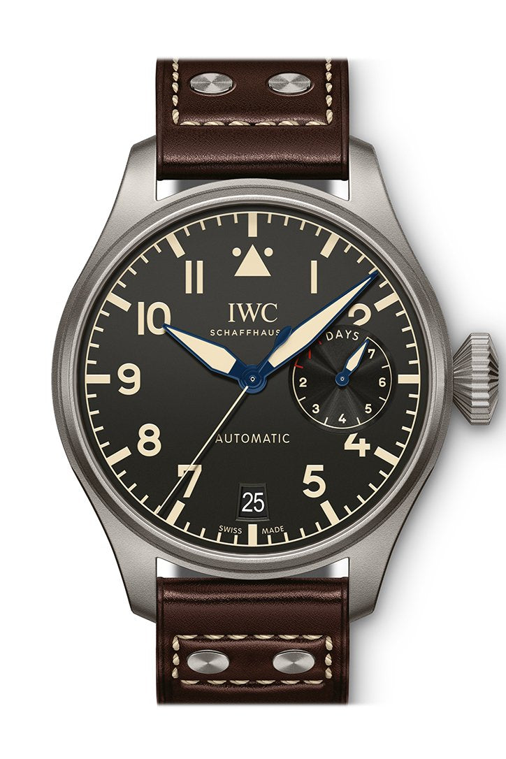 IWC Big Pilots Automatic Black Dial Men's Watch IW501004