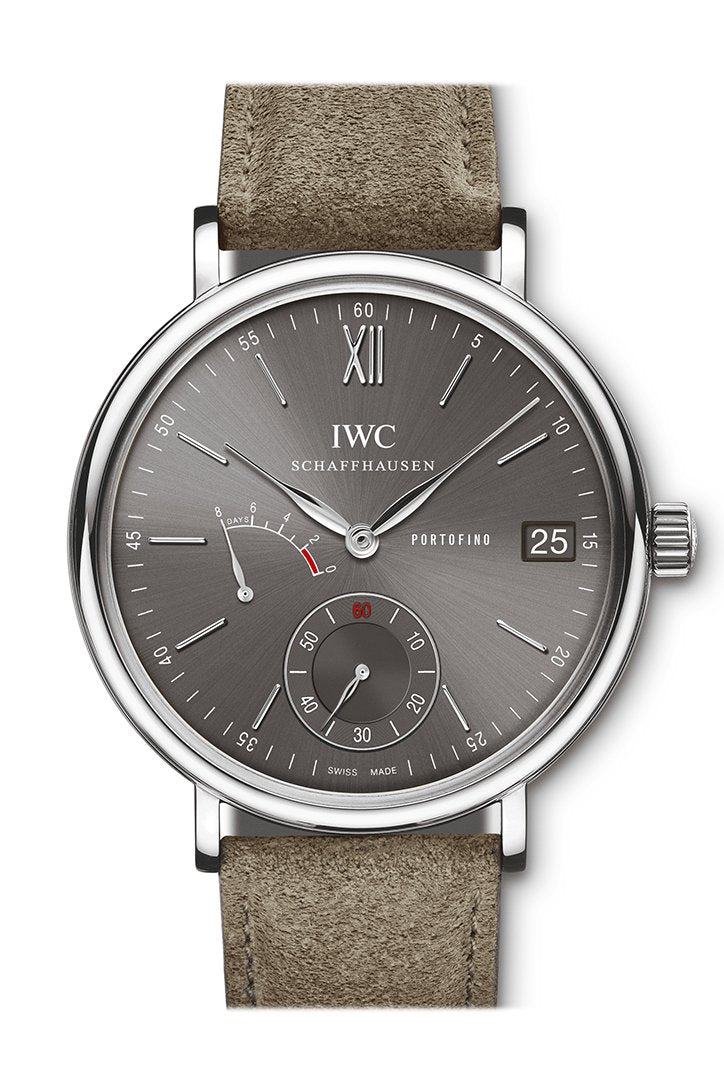 IWC Portofino Hand-Wound Eight Days in Steel Grey Dial IW510115