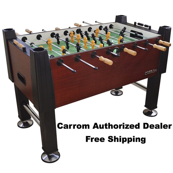 CARROM WILD CHERRY SIGNATURE FOOSBALL TABLE - Foosball Master