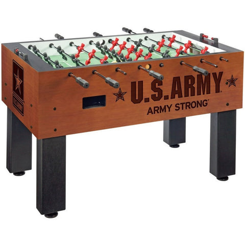 Official Military Logo Foosball Table - US Army - Foosball Master