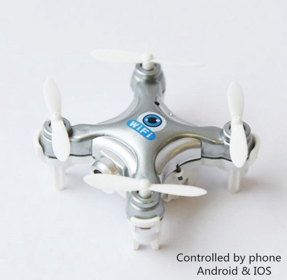 WiFi Drone with Camera Cheerson CX-10W Quadcopter with Remote Control - Trend-gem