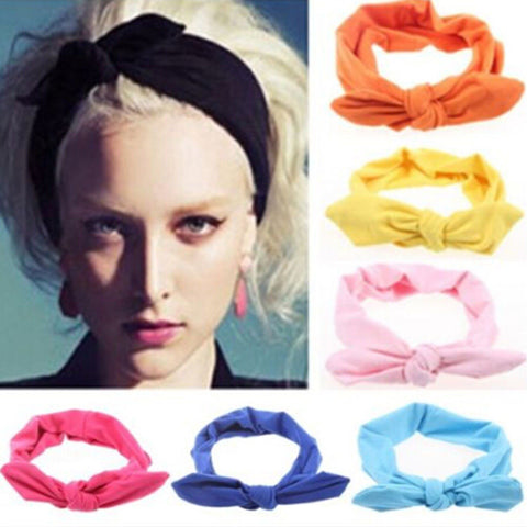 Women's Elastic Bow Hairband - Trend-gem
