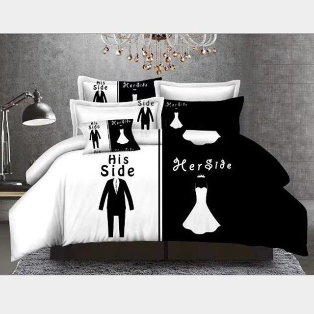 Mr. & Mrs. Couples Bedding - Hottest Holiday Gift! - Trend-gem