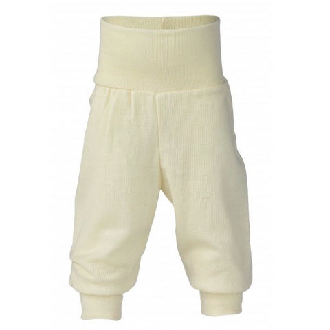 Engel Organic Cotton Baby Pants with waistband Natural