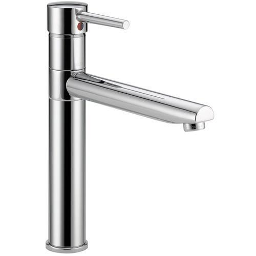 Delta kitchen faucet Chrome Delta Trinsic: Single Handle Kitchen Faucet