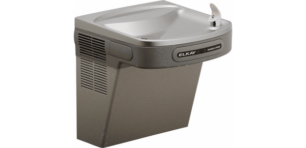 Elkay Coolers and Fountains Light Gray Granite Elkay Cooler Wall Mount ADA Hands-Free Non-Filtered, 8 GPH Light Gray Granite