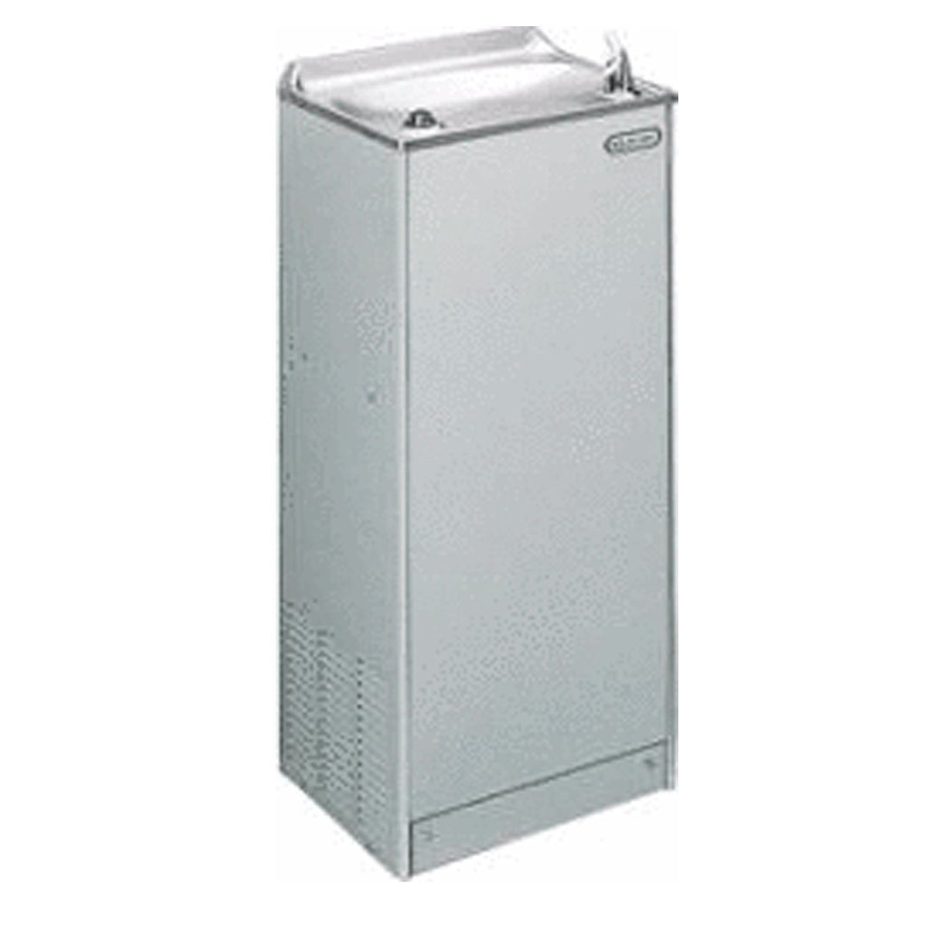 Elkay Coolers and Fountains Stainless Elkay Cooler Floor Mount Non-Filtered 14 GPH Stainless