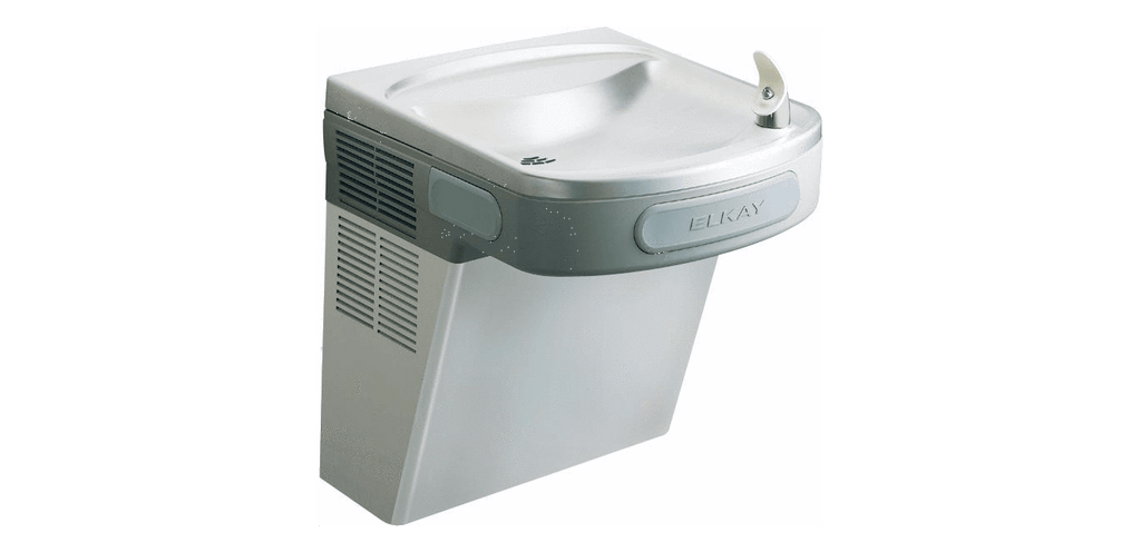 Elkay Coolers and Fountains Stainless Elkay Cooler Wall Mount ADA Non-Filtered 4 GPH Stainless