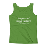 Keep Out Of Direct Sunlight POTS Awareness Women's Tank Top - Choose Color - Sunshine and Spoons Shop