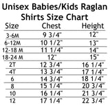 My Mom is Blogging This Personalized Kids Raglan Baseball Shirt - Choose Color