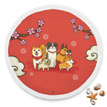 I Love Dogs Circle Beach Blanket - Bowie Shoppe