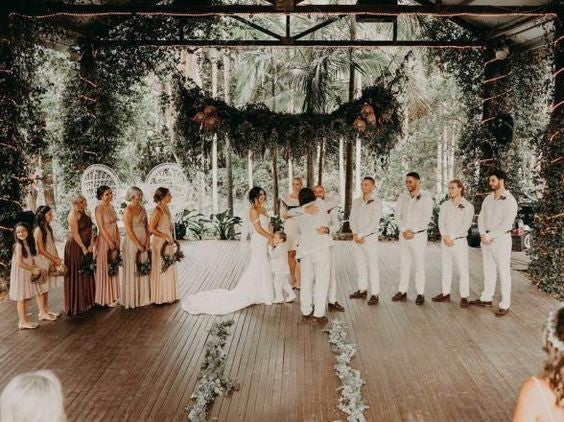 Cedar Creek Lodges, Qld wedding venue showcased by Bridesmaid Boxes