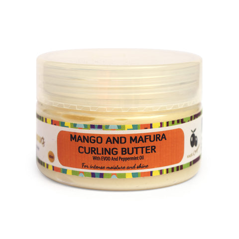Manetain Organics Mango & Mafura Curling Butter