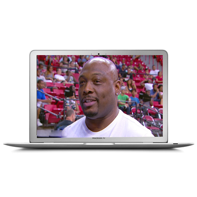 Mitch Richmond Video Postcard