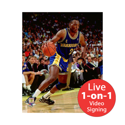 "Mitch Richmond LIVE Video signing 8""x10"" Photo"