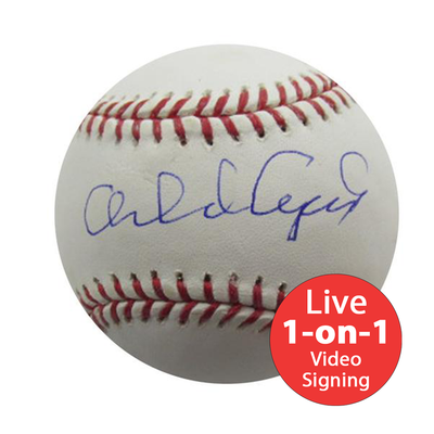 Orlando Cepeda LIVE Video Signing Baseball