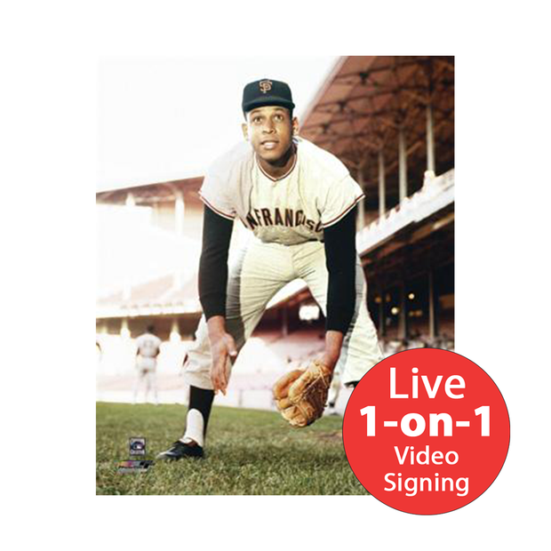 "Orlando Cepeda LIVE Video Signing 8""x10"" Giants Photo"