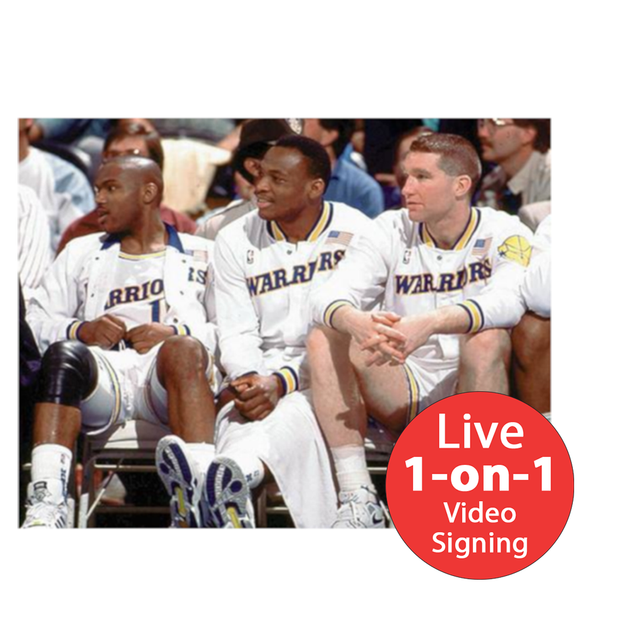"Mitch Richmond LIVE Video Signing 8""x10"" Run TMC Photo"
