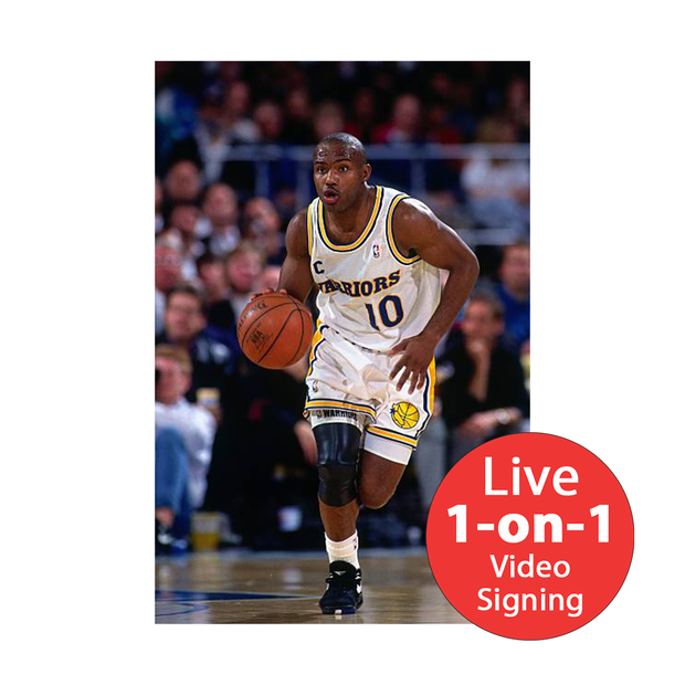"Tim Hardaway LIVE Video Signing 8""x10"" Warrior-W Photo"