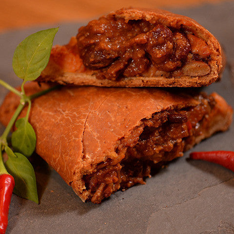 The Mountain Chilli Pasty (Gluten Free) - box of 12 (price includes delivery)