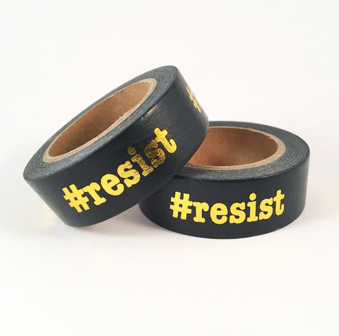#resist Foil Washi Tape **Custom**