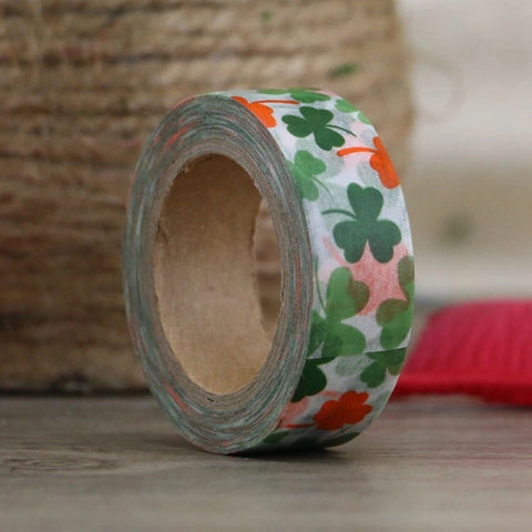Lucky Clover Washi Tape
