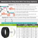 Silicone Wedding Ring for Men by Rinfit™ 4love Collection