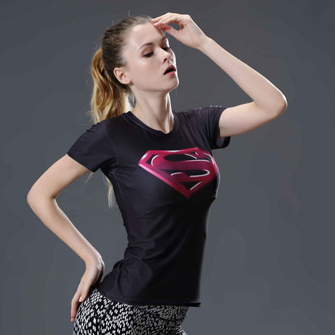 Super Heros 3D Women's T-shirts