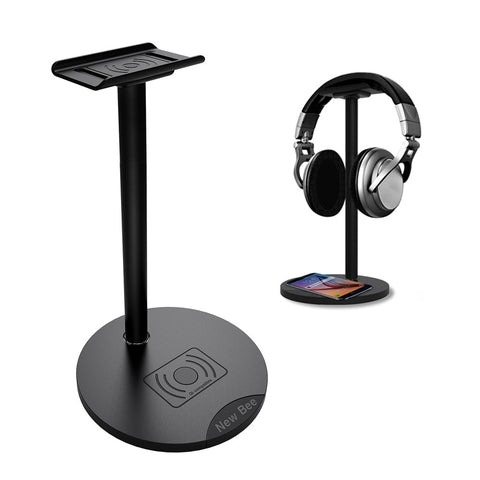 Universal Headset Stand+Wireless Charging