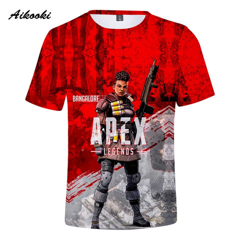 Aikooki 3D Apex Legends T-Shirts Men/Women