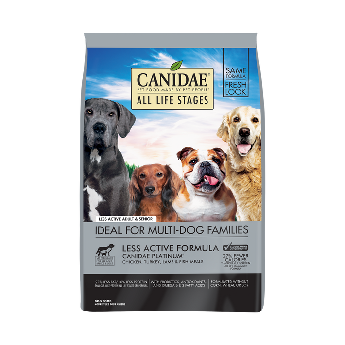 Canidae Platinum Formula for Seniors And Over Weight Dogs Dry Dog Food