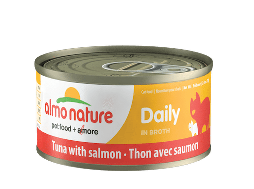 Almo Nature Daily Tuna With Salmon Wet Cat Food