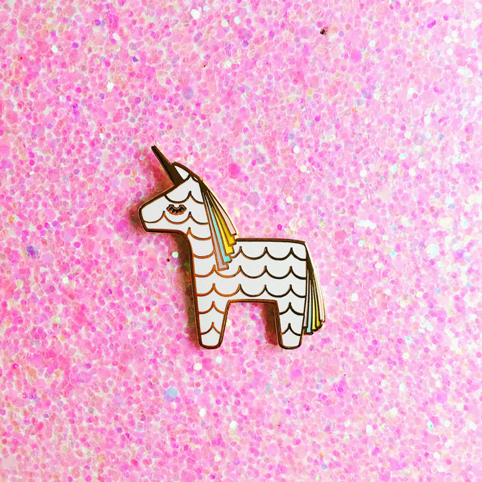 Unicorn Piñata Pin