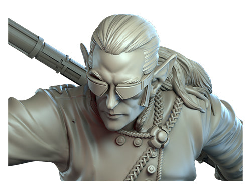 Skye, Elf Monk Sculpt Reveal!