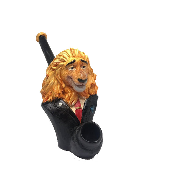 Resin Pipe Lion