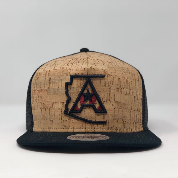 Arizoniacs Black Cork Hat