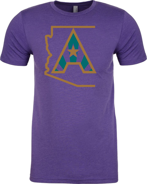 Arizoniacs Logo - Purple Mens