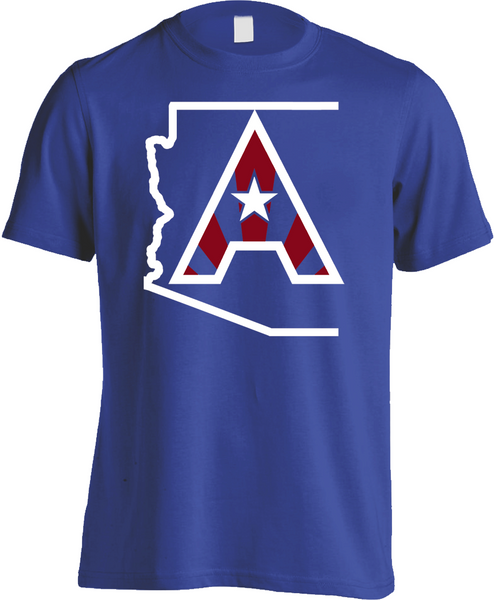 Arizoniacs Logo - Men's Royal